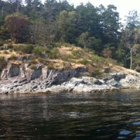 Sansum Narrows Oceanfront Acreage